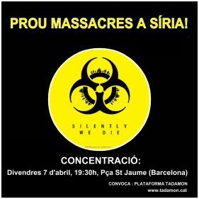 Prou massacres a Síria